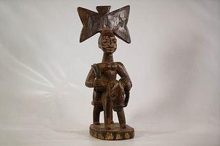 Yoruba Shango Horse Rider Figure