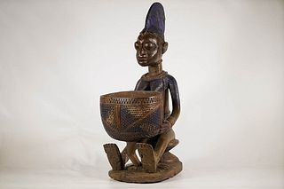 Yoruba Bowl Figure