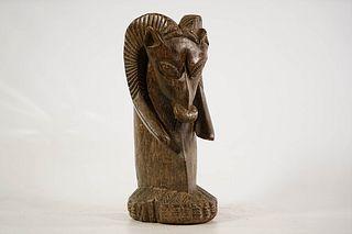 Yoruba Zoomorphic Shrine Figure