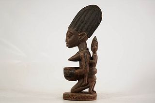 Yoruba Maternity Offering Bowl