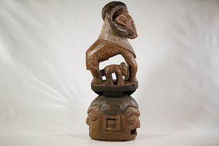 Yoruba Janus Epa Mask