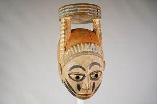 Yoruba Gelede Mask From Nigeria