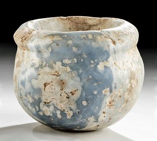Rare Western Asiatic Anhydrite Bowl - ex-Christie's