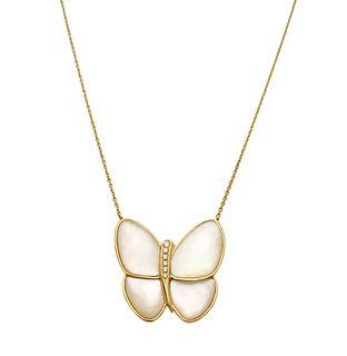 Van Cleef & Arpels 18k Flying Beauties Diamond