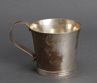 Cartier Sterling Silver Paul Revere Handled Cup