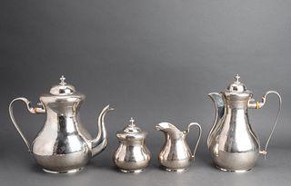Buccellati Sterling Silver Tea & Coffee Service, 4