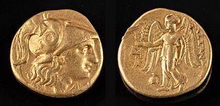 Greek Gold Alexander III Stater - 8.5 g