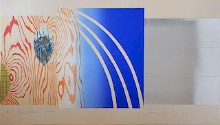James Rosenquist lithograph
