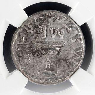 Judaea Jewish War AR Silver Shekel