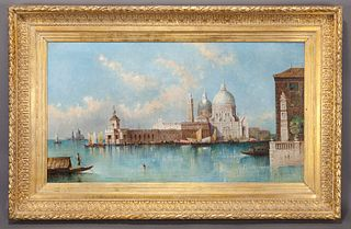 """William Meadows """"Untitled (Venetian Grand Canal)"""""""
