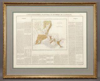 Carte Geographique, Statistique et Historique