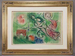 """After Marc Chagall """"Romeo et Juliette"""" color"""