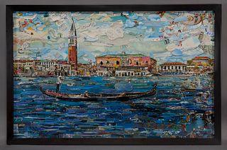 "Vik Muniz ""Venice (from Postcards from Nowhere)"""