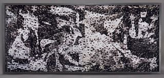 """Vik Muniz """"Guernica, after Pablo Picasso (from"""