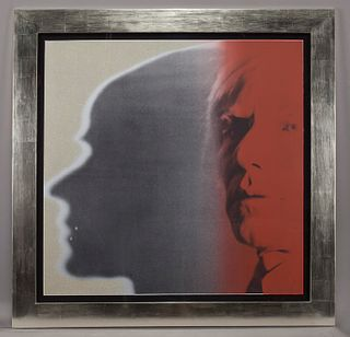 """Andy Warhol """"The Shadow (from the Myths)"""" color"""
