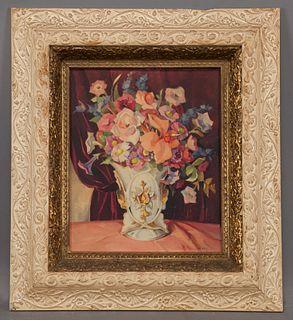"""Ella Marie Koepke Mewhinney """"Untitled (Floral"""