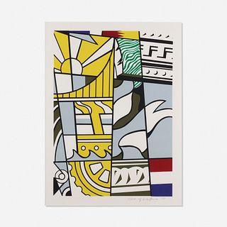 Roy Lichtenstein, Bicentennial Print