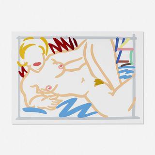 Tom Wesselmann, Judy on Blue Blanket