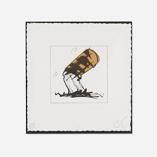 Claes Oldenburg, Butt for Gantt from the Harvey Gantt portfolio