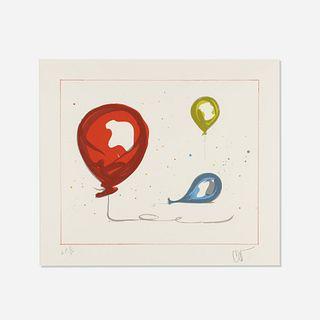 Claes Oldenburg, Balloons from The Landfall Press 30th Anniversary portfolio