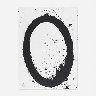 Richard Serra, MOCA from MOCA 20th Anniversary portfolio