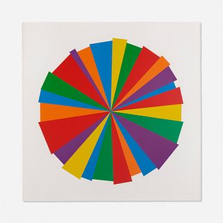 Sol LeWitt, Uneven Circle from Doctors of the World portfolio