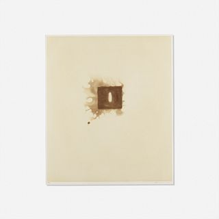 Anish Kapoor, Untitled from the Skowhegan Suite