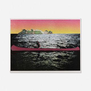 Peter Doig, Canoe-Island