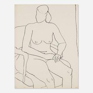 Richard Diebenkorn, Seated Nude