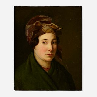 Gustave de Galard, Untitled (Portrait of a Lady)
