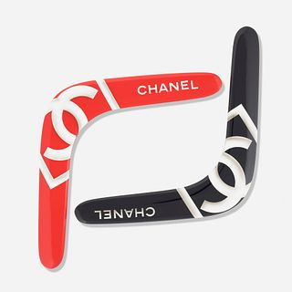 Chanel, boomerangs from the Spring/Summer 2005 Collection, set of two