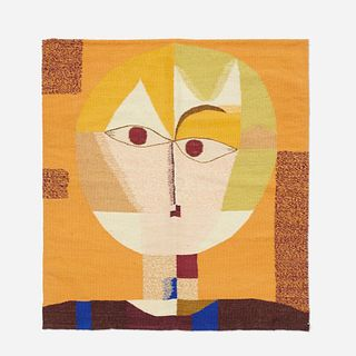 After Paul Klee, Senecio tapestry