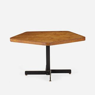 Charlotte Perriand, adjustable table from Les Arcs, Savoie