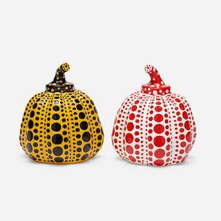 Yayoi Kusama, Pumpkins, set of two