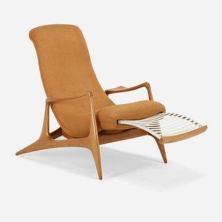 Vladimir Kagan, Multi-position Reclining chair, model VK100