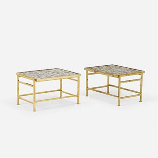 Edward Wormley, side tables, pair