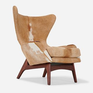 Adrian Pearsall, Wing Chair, model 2231-C