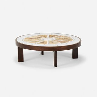 Roger Capron, coffee table