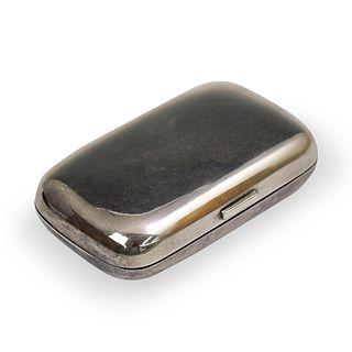Russian Sterling Silver Konstantin Skvortsov Box