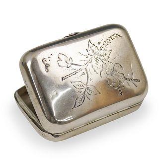 Russian Silver Ivan Andreyevich Ado Box