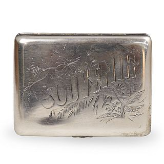 Russian Silver Lev Fridrikhovitch Oleks Box