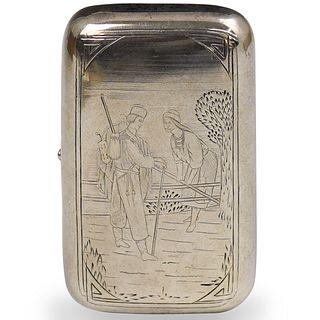 Russian Silver Viktor Vasilyevich Savinsky Box