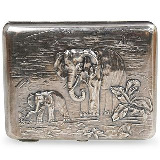 Russian Silver Pyotr Petrov Cigarette Case