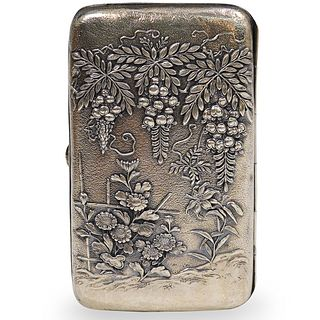 Japanese Meiji Silver Box