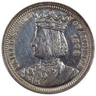 1893 25c Isabella AU
