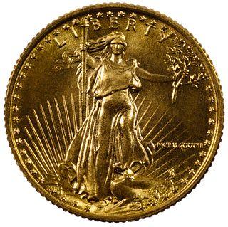 1986 $5 Gold Unc.