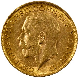 England: 1911 Gold Sovereign