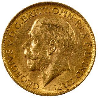 England: 1912 Gold Sovereign