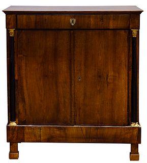 French Empire Mahogany Cabinet