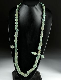 Central European Bronze Bead Necklace